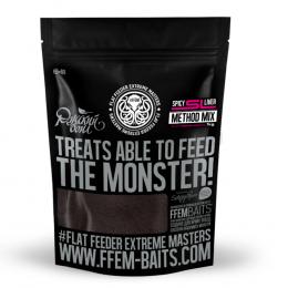Прикормка FFEM Method Mix Spicy Liver