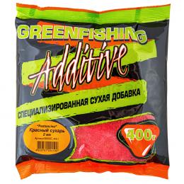 Прикормка Greenfishing Art. Сухарь Красный Pastoncino 400 гр.