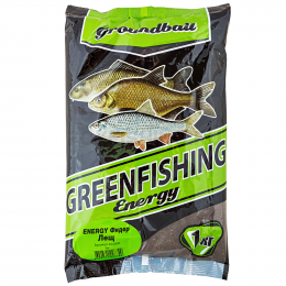 Прикормка Greenfishing Energy Фидер Лещ 1кг
