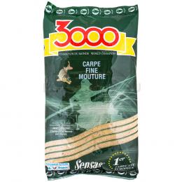 Прикормка SENSAS 3000 CARP Fine MoutureE 1кг