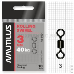 Вертлюжки Nautilus Rolling Swivel 0101 №3