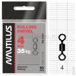 Вертлюжки Nautilus Rolling Swivel 0101 №4