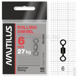 Вертлюжки Nautilus Rolling Swivel 0101 №6
