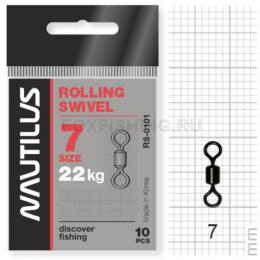 Вертлюжки Nautilus Rolling Swivel 0101 №7