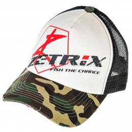Бейсболка ZETRIX CAP ZC-1601 Camo Beak, Black Mesh