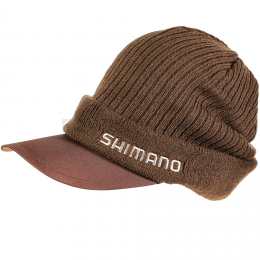 Шапка Shimano Knit Cap BREATHHYPER BROWN