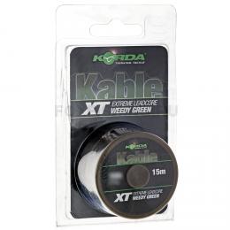 Лидкор KORDA Kable XT EXTREME  15м. 70lb. GREEN