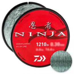 Леска DAIWA NINJA X LINE 1850м. 0.26мм. GRAY