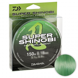 Леска DAIWA SUPER SHINOBI 150м. 0.40мм. GREEN