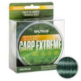 Леска NAUTILUS Carp Extreme 600м. 0.40мм. DARK GREEN
