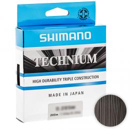 Леска SHIMANO TECHNIUM 200м. 0.22мм. BLACK