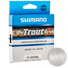 Леска SHIMANO TROUT 150м. 0.255мм. CLEAR