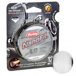 Плетеный шнур Berkley Nanofil 125м. 0.17мм. CLEAR MIST