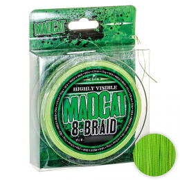 Плетеный шнур MADCAT G2 8-BRAID MAIN LINE 270м. 0.40мм. GREEN