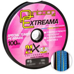 Плетеный шнур PONTOON 21 EXTREEMA X4 100м. 0.148мм. MULTICOLOR