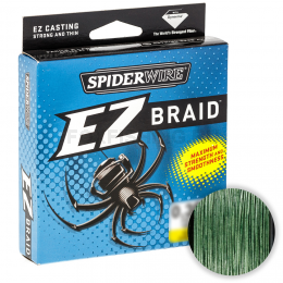 Плетеный шнур SPIDERWIRE EZ 270м. 0.35мм. LOW VIS GREEN