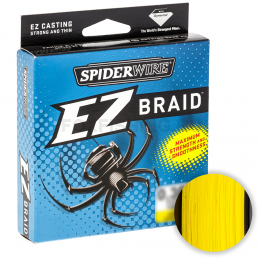 Плетеный шнур Spiderwire Ez 100м. 0.35мм. HI VIS YELLOW