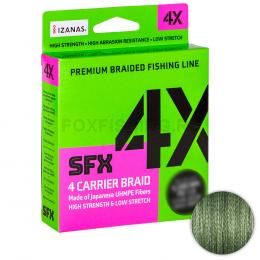 Плетеный шнур Sufix Sfx Braid X4 135м. 0.148мм. Green