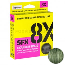 Плетеный шнур Sufix Sfx Braid X8 135м. 0.128мм. Green