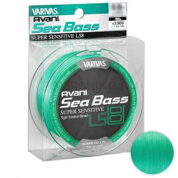 Плетеный шнур Varivas Avani Sea Bass Super Sensitive LS8 150м 0.8