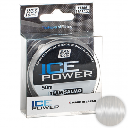 Зимняя SALMO ICE POWER 50м. 0.12мм. CLEAR