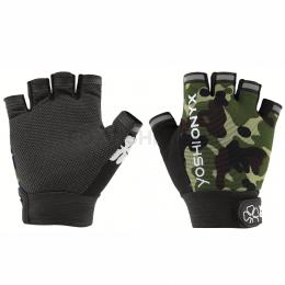 Перчатки YOSHI ONYX GLOVES Камуфляж 5 открытых пальцев