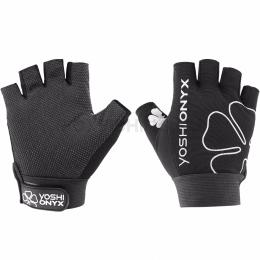 Перчатки YOSHI ONYX GLOVES Черный 5 открытых пальцев