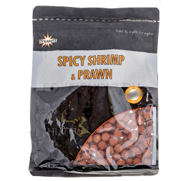 Бойлы DYNAMITE BAITS SPICY SHRIMP & PRAWN 15мм 1кг