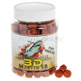 Бойлы MARTIN SB SPECIAL 3D Fishy Robin Red 15/20 мм. 1000 гр.