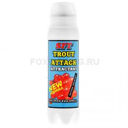 Аттрактант Sft Trout Attack с запахом икры