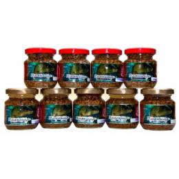 Насадка ТРИ КИТА art. пшеница консервированная 105гр мёд