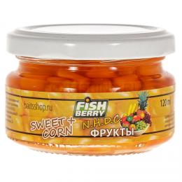 """Насадка Fish Berry Sweet Corn Кукуруза """"Фрукты"""" 120мл"""