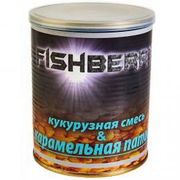 Зерновая смесь FISH BERRY SPOD MIX Кукурузная смесь в карамельной патоке 900 мл.