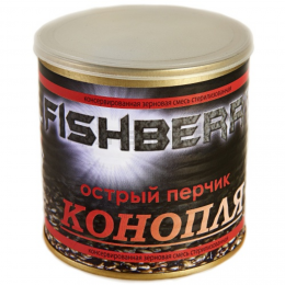 """Зерновая смесь FISH BERRY SPOD MIX Зерновая смесь """"Острый перчик"""" 430мл."""