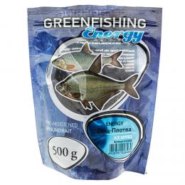 Прикормка GREENFISHING ENERGY ICE SERIES Лещ Плотва