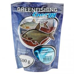 Прикормка GREENFISHING ENERGY ICE SERIES Универсальная (Мотыль)