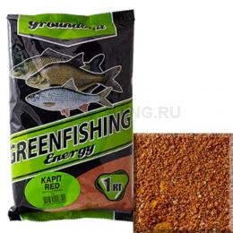 Прикормка GREENFISHING ENERGY Карп Red 1кг