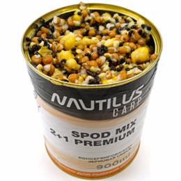 Зерновая смесь NAUTILUS SPOD MIX 2+1 Premium 900ml