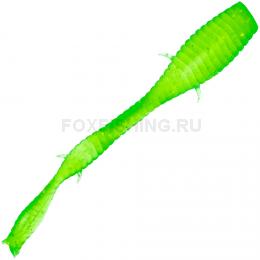 Силиконовая приманка Microkiller Ленточник 56мм. Зеленый Флюо