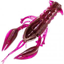 Силиконовая приманка MICROKILLER РАЧОК 40мм. Фиолетовый