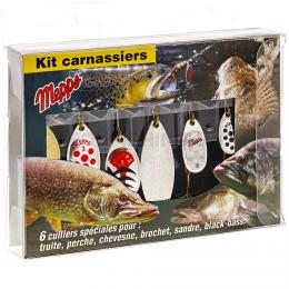 Набор MEPPS блесны AGLIA KIT Carnassier