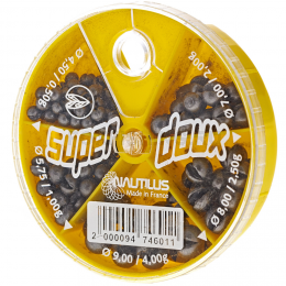 Дробь NAUTILUS SUPER DOUX 5 Cases # 4,5-9,0mm 0.5-4.0гр
