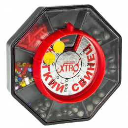 Дробь XTRO art. мягкие 0,40; 0,60; 1,00; 1,25; 1,60 гр