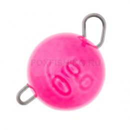 "Груз ""чебурашка"" Grfish Вольфрам 0.8 гр. розовый"