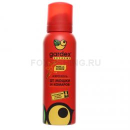 Репеллент Gardex Extreme аэрозоль от мошек и комаров 100мл