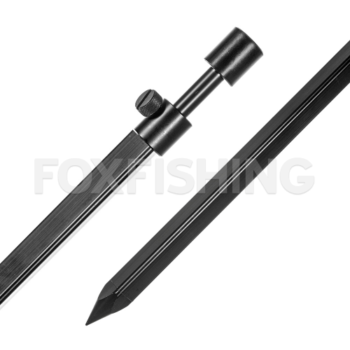 Стойка MAD BLACK ALUMINIUM CHUNKY TRI-STICK Bankstick 60-110 cm фото №1