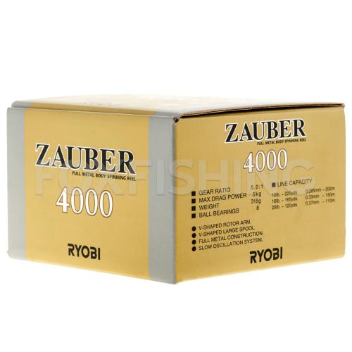 Катушка безынерционная RYOBI ZAUBER 4000 N фото №9