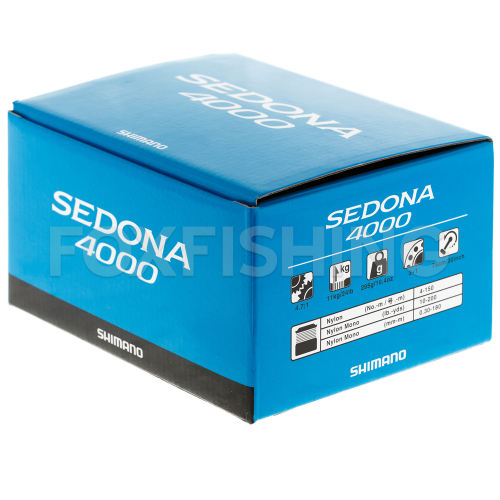 Катушка безынерционная SHIMANO SEDONA 4000 FI фото №9