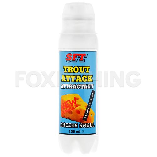 Аттрактант SFT TROUT ATTACK с запахом сыра фото №1