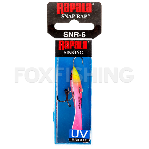 Балансир RAPALA SNAP RAP SNR04-UVCP фото №2